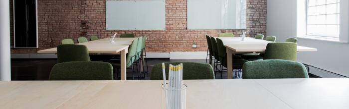 Fotografia di un aula