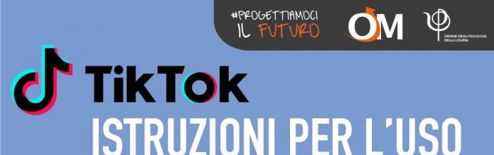 Oggi alla 18.00 Seminario per le famiglie: TIK TOK istruzioni per l'uso