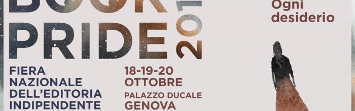 Locandina Book Pride 2019 - Palazzo Ducale GENOVA