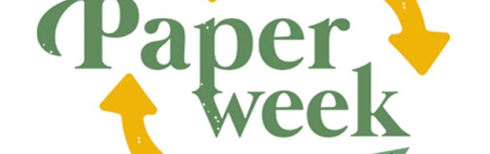 Dal 12 al 18 aprile Paper week sul riciclo della carta