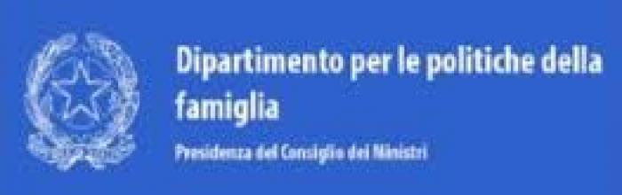 Logo Dipartimento per le politiche della famiglia