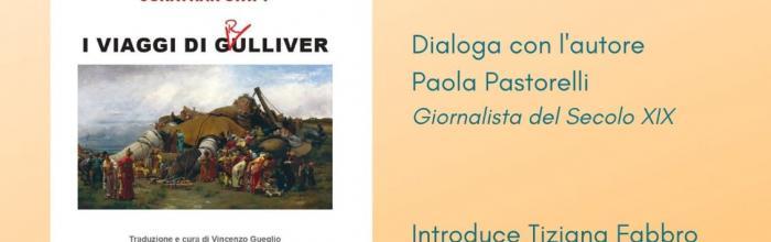 """Locandina presentazione libro """"I viaggi i Grulliver"""""""