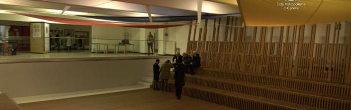 il 17 dicembre  conclusi i lavori per trasformare l'Istituto Italo Calvino in un civic center