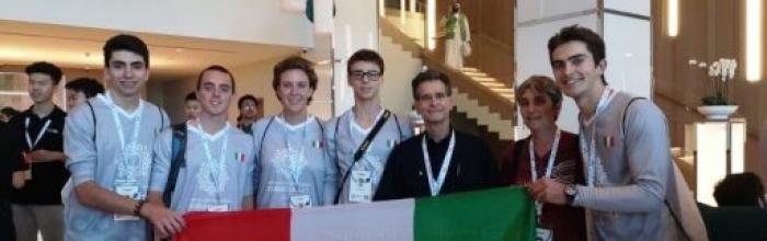 Il Liceti vince l'argento ai mondiali della robotica 2019