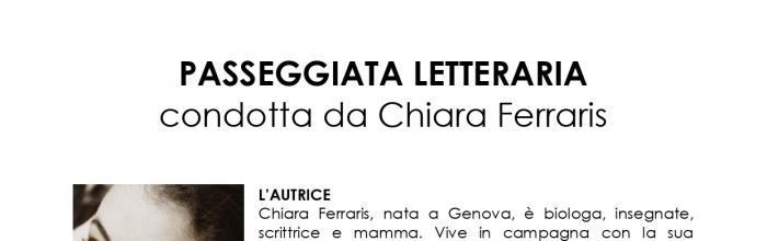 PASSEGGIATA LETTERARIA - Mignanego, 21 settembre 2021 - ore 17.30