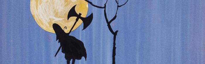 """Immagine da """"I tre briganti"""" di Tomi Ungerer copyr. Musée Ungerer"""