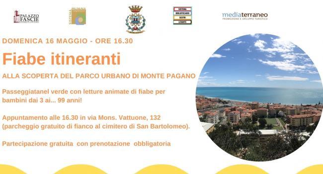 Fiabe itineranti - Sestri Levante - domenica 16 maggio - ore 16.30