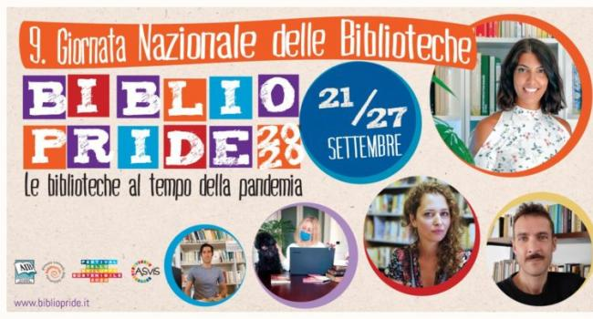 Logo Bibliopride 2020