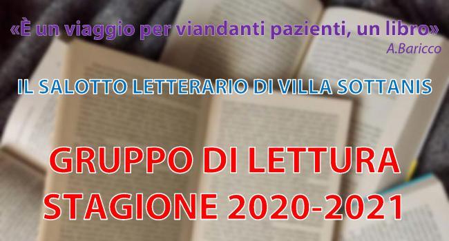 Locandina Salotto letterario di Villa Sottanis