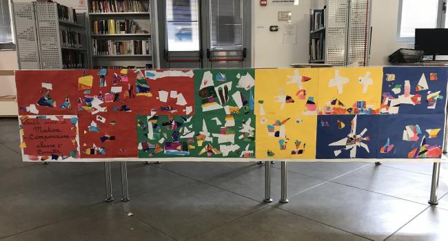 LEGGIAMO E COLORIAMO CON L'ARTE! Laboratori artistici a cura della Biblioteca di Busalla