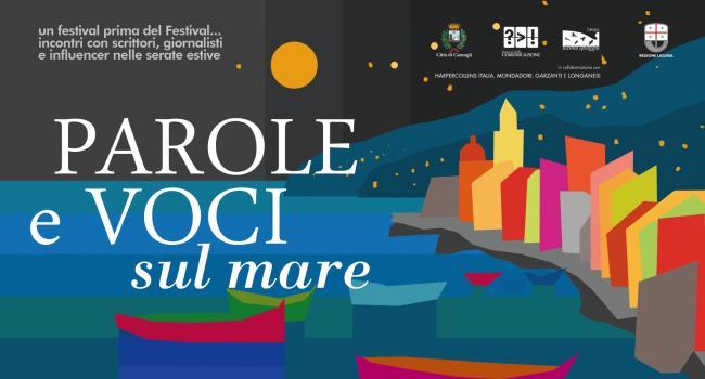 Locandina - PAROLE E VOCI SUL MARE - Camogli, dal 6 al 28 luglio 2021