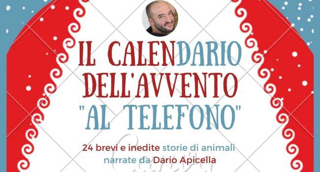 Locandina IL CALENDARIO DELL'AVVENTO AL TELEFONO