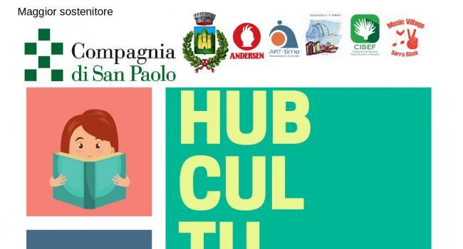 "BIBLIOINSIEME: INAUGURAZIONE HUB CULTURALE - SERRA RICCO', Biblioteca ""E. Firpo"", venerdì 24 maggio, ore 17.00"