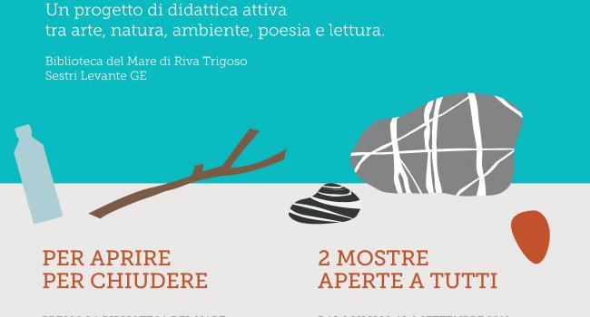 TRA MARE E BATTIGIA, Sestri Levante (GE), Biblioteca del Mare di Riva Trigoso, 2 luglio - 2 settembre 2019
