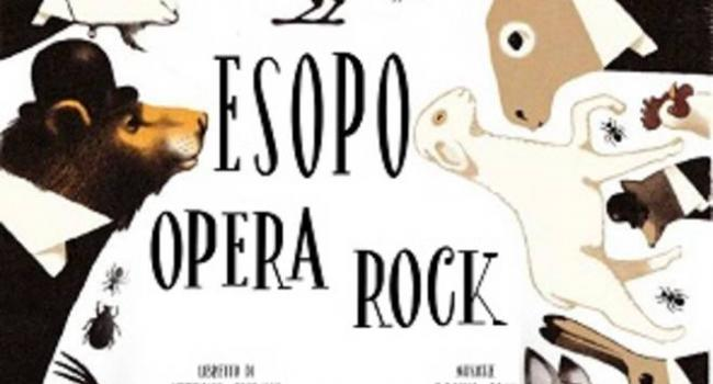 """Il liceo Pertini presenta  il musical """"ESOPO OPERA ROCK"""""""