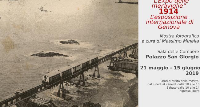 """""""L'Expo delle meraviglie – 1914 L'Esposizione Internazionale di Genova"""""""