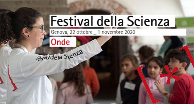 Dal 22 ottobre il Festival della scienza 2020 a Genova