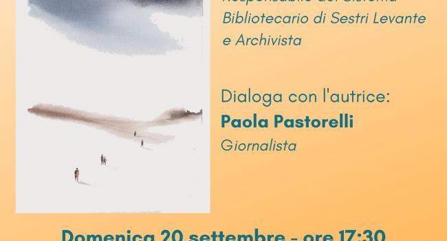 CENTO LUNE: presentazione del libro di Laura Merione. SESTRI LEVANTE, Palazzo Fascie, Sala Bo, domenica 20 settembre - ore 17.30