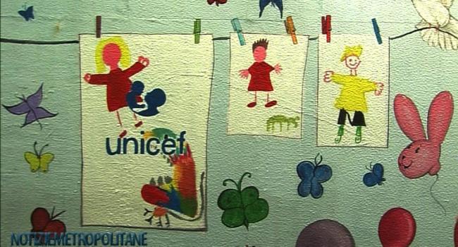 Unicef: domani i bambini inaugurano il sottopasso restaurato e dedicato ai loro diritti
