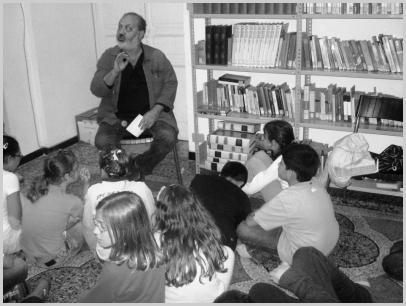 Roberto Piumini incontra i ragazzi
