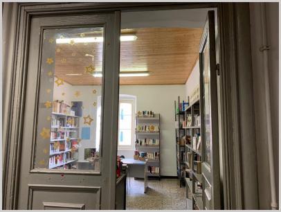 Ingresso biblioteca