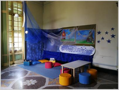 Villa Borzino, laboratorio di lettura per bambini Festival dello Spazio