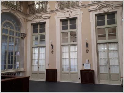 Ingresso interno Biblioteca - Sala Corte