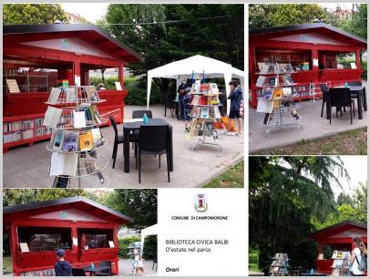 D'estate nel parco a Campomorone - Biblioteca noCovid