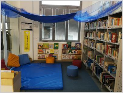 Interno Biblioteca - spazio morbido 0-6