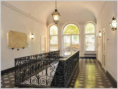 Particolare interno di Palazzo Balbi