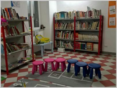 """Sala """"piccoli lettori"""""""