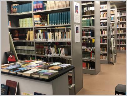 Interno biblioteca - 2