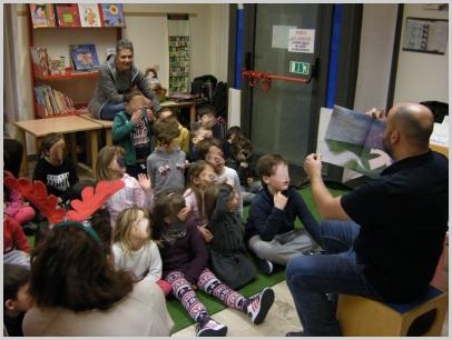 """Incontro con i bambini della scuola dell'infanzia  """"Leggiamo il Natale"""" (Dario Apicella e Carla Damonte)"""