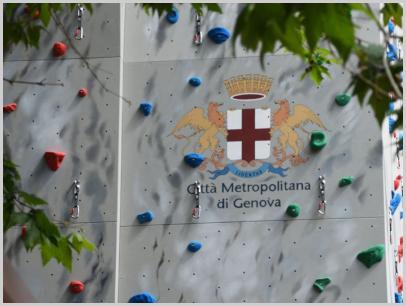 Immagine relativa a Liceo L. Lanfranconi - parete arrampicata