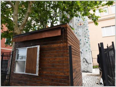 Immagine relativa a Liceo L. Lanfranconi - accesso parete arrampicata