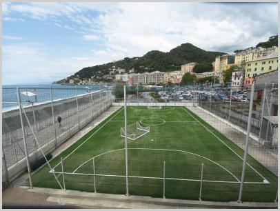 Immagine relativa a Liceo L. Lanfranconi - campetto sportivo esterno