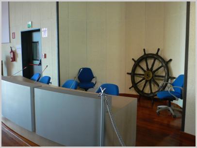 Atrio Istituto in Calata Darsena - Genova