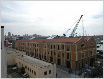 Vista Istituto in Calata Darsena - Genova