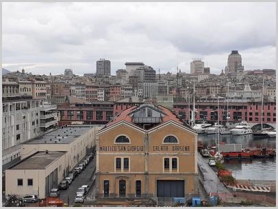 Istituto in Calata Darsena - Genova veduta aerea