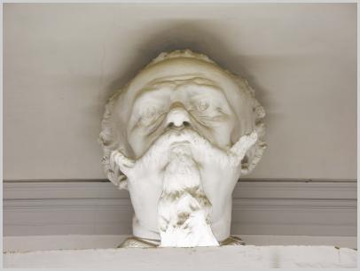Testa monumentale di Vittorio Emanuele