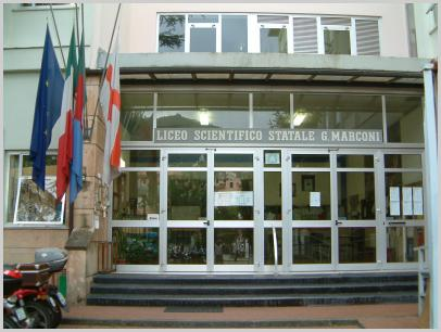 Immagine relativa a Liceo Marconi/Delpino - entrata